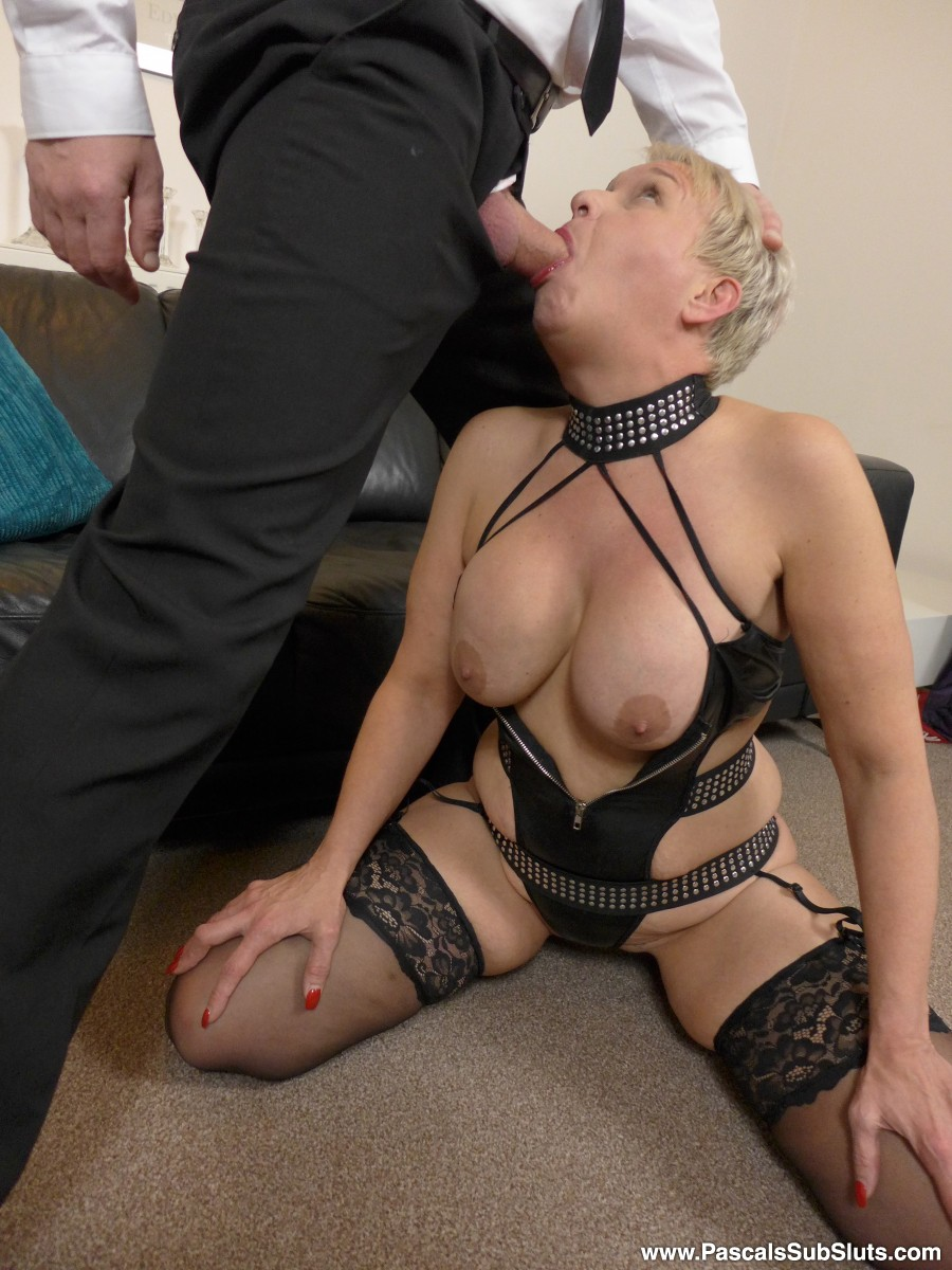 Short hair slut gets nailed on the sofa by a hunk 3